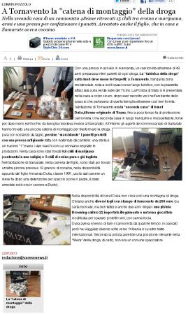 Varesenews del 22 luglio 2013