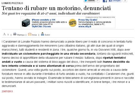 Varesenews del 23 luglio 2013