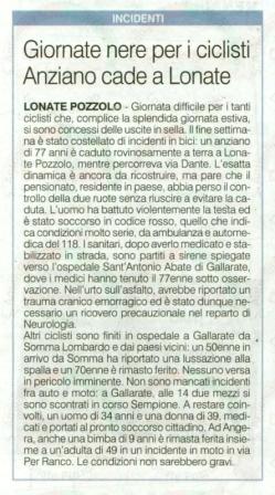 La Prealpina del 22 luglio 2013