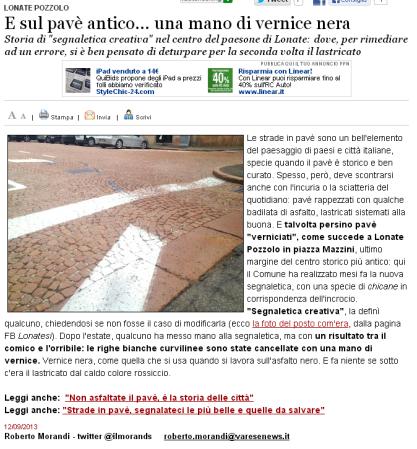 Varesenews del 12 settembre 2013