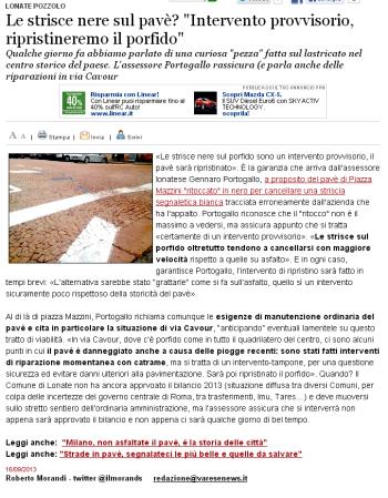 Varesenews del 16 settembre 2013