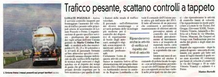 La Prealpina del 8 settembre 2013