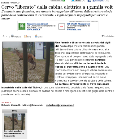 Varesenews del 30 settembre 2013