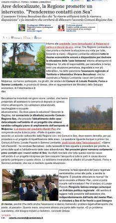 Varesenews del 10 ottobre 2013