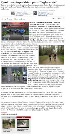 Varesenews del 20 ottobre 2013