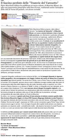 Varesenews del 8 novembre 2013