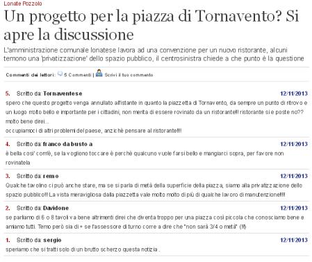 Varesenews - i commenti
