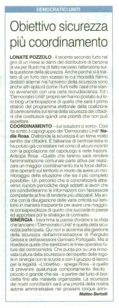 La Prealpina del 7 gennaio 2014