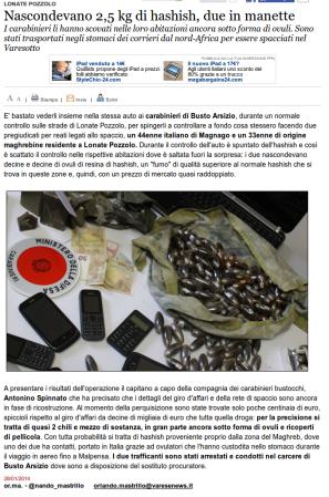 Varesenews del 28 gennaio 2014