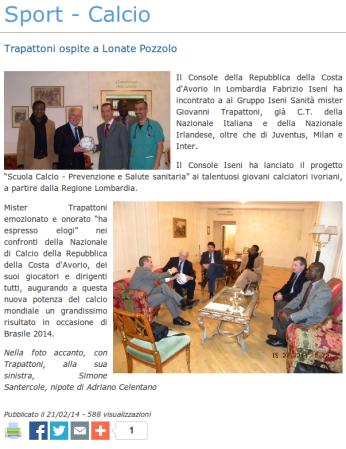 Legnanonews del 21 febbraio 2014