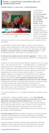Varese7Press del 21 marzo 2014