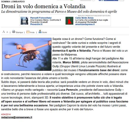 Varesenews del 4 aprile 2014