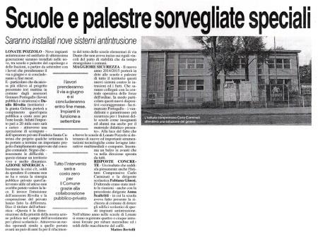 La Prealpina del 18 aprile 2014