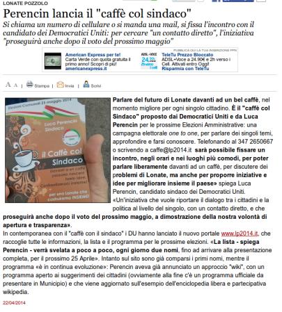 Varesenews del 22 aprile 2014