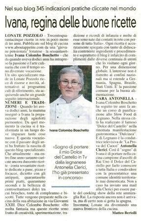 La Prealpina del 23 aprile 2014