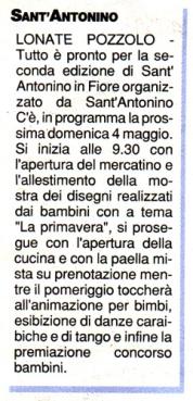 La Prealpina del 27 aprile 2014