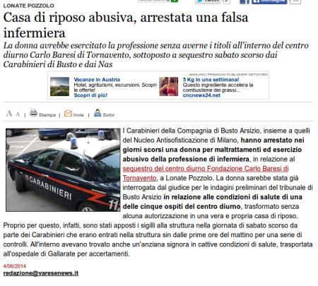 Varesenews del 4 giugno 2014