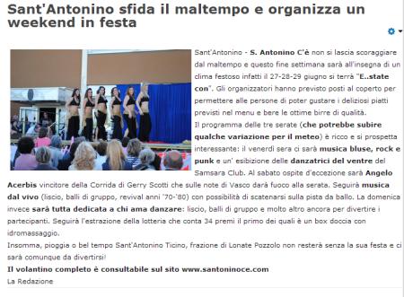 AsseSempione.info del 27 giugno 2014