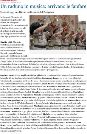 La Stampa del 7 giugno 2014