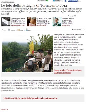 Varesenews del 30 giugno 2014