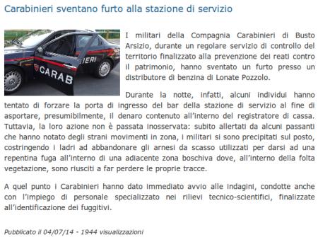 Legnanonews del 4 luglio 2014