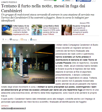 Varesenews del 4 luglio 2014