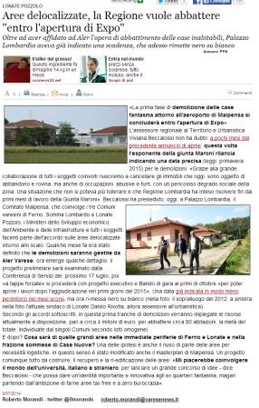 Varesenews del 9 luglio 2014