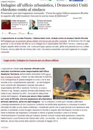 Varesenews del 11 luglio 2014