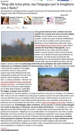 Varesenews del 16 luglio 2014
