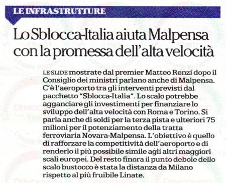 La Repubblica - Milano del 30 agosto 2014