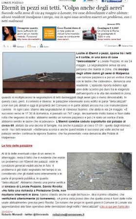 Varesenews del 20 ottobre 2014