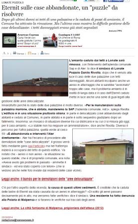 Varesenews del 22 ottobre 2014