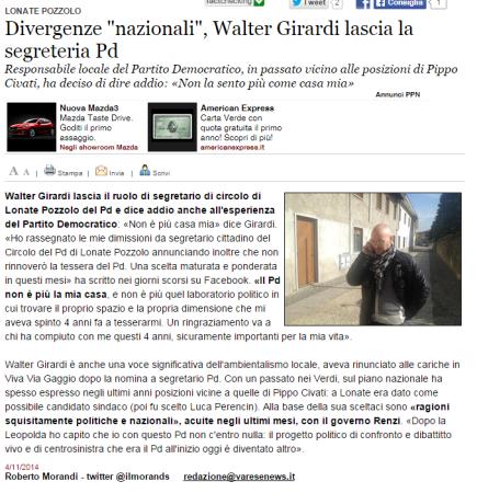Varesenews del 4 novembre 2014