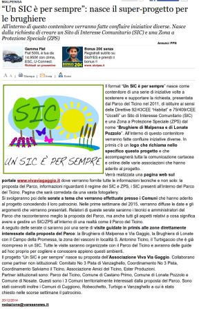 Varesenews del 20 dicembre 2014