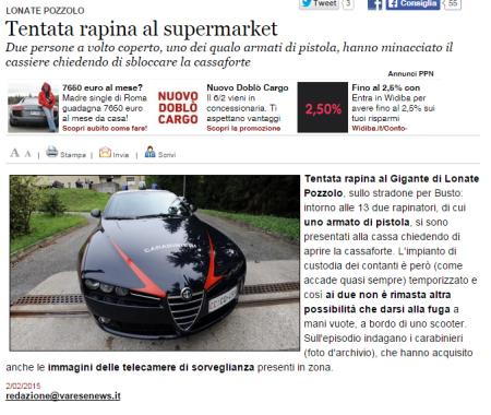 Varesenews del 2 febbraio 2015