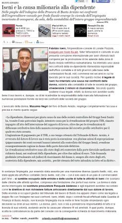 Varesenews del 24 febbraio 2015