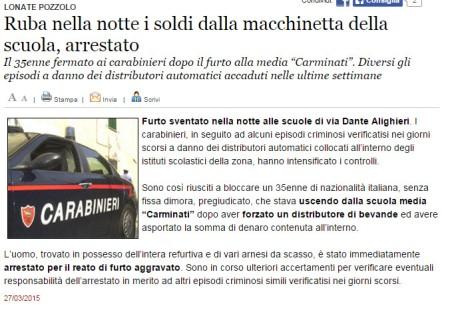 Varesenews del 27 marzo 2015
