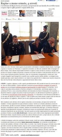 Varesenews del 30 marzo 2015