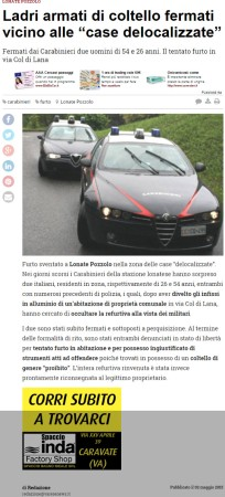 Varesenews del 2 maggio 2015