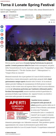 Varesenews del 7 maggio 2015
