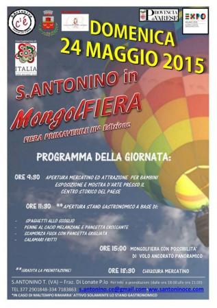 S. Antonino in mongolfiera