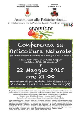 Conferenza orticoltura