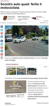 Varesenews del 30 maggio 2015