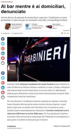 Varesenews del 23 giugno 2015