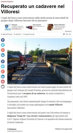 Varesenews del 24 giugno 2015