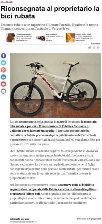 Varesenews del 30 giugno 2015