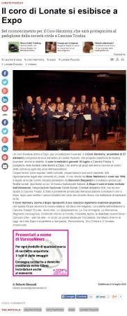 Varesenews del 14 luglio 2015
