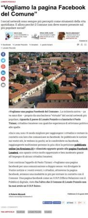 Varesenews del 10 agosto 2015