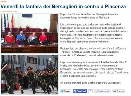 PiacenzaSera del 2 settembre 2015