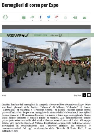 Corriere della Sera del 28 settembre 2015
